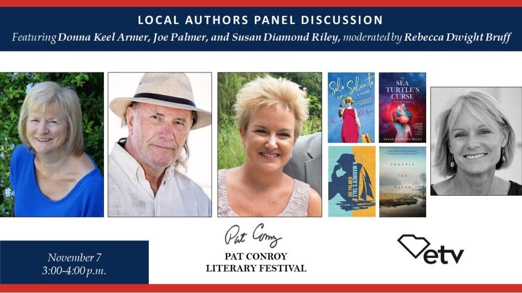 local authors panel discussion