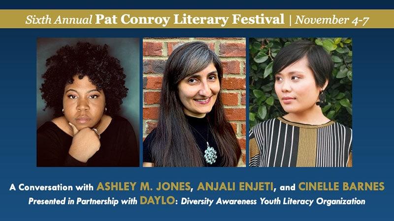 author event Jones, Enjeti, Barnes