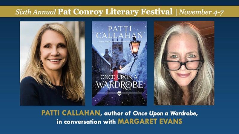 Patti Callahan in conversation with Margaret Evans